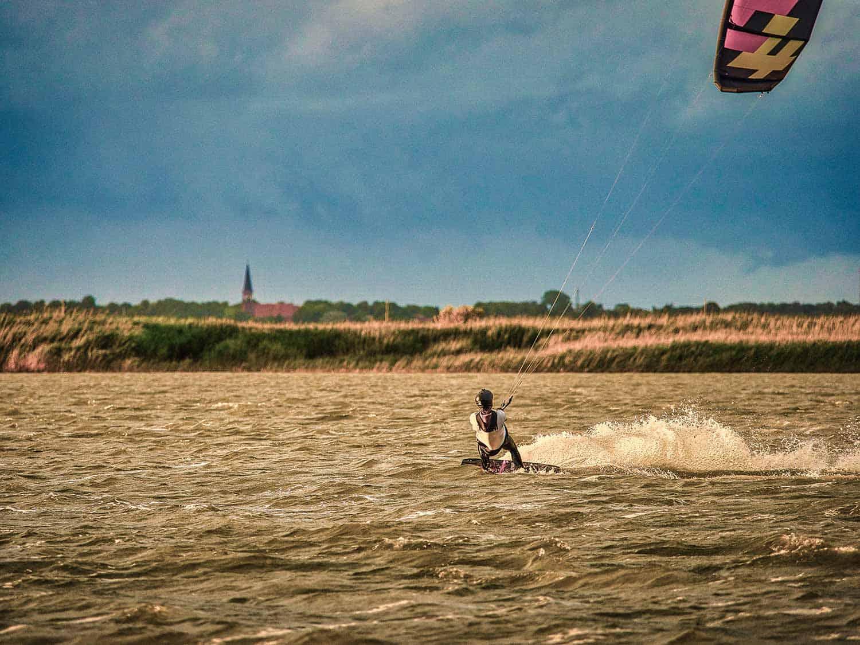 Kiten Ostsee Darss