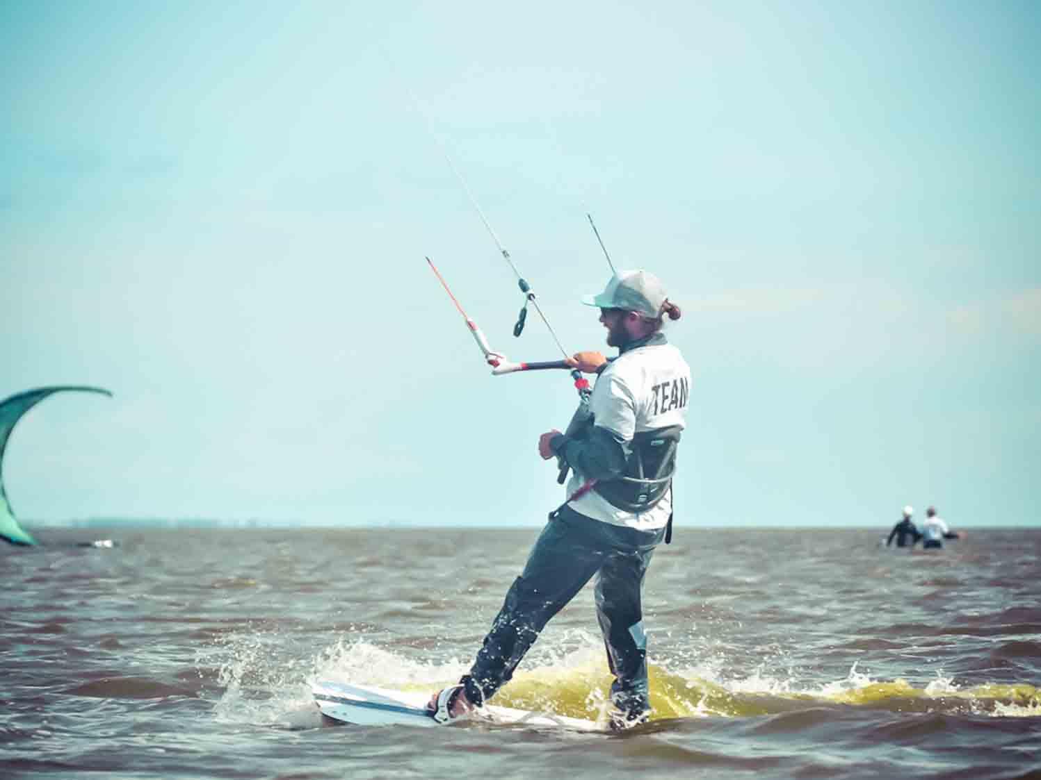 Kitesurfen Ostsee Höhelaufen
