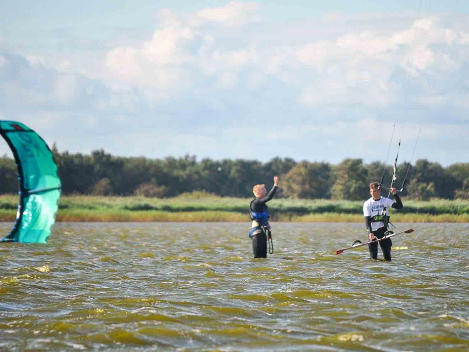 Kitesurfen Ostsee lernen