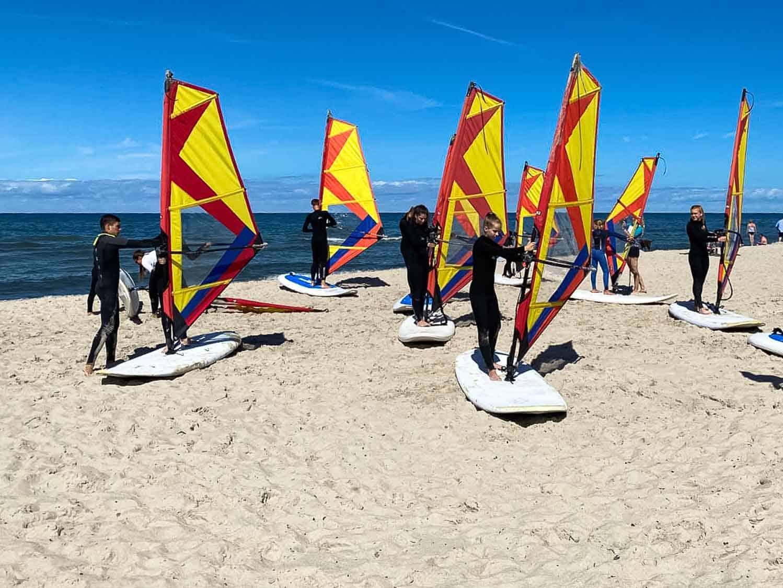 Windsurfkurs Ostsee Strand