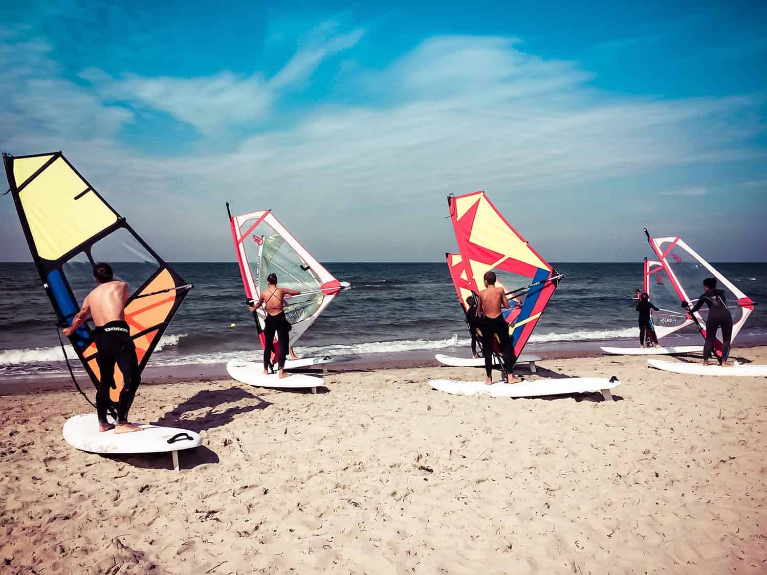 Windsurfkurs Ostsee